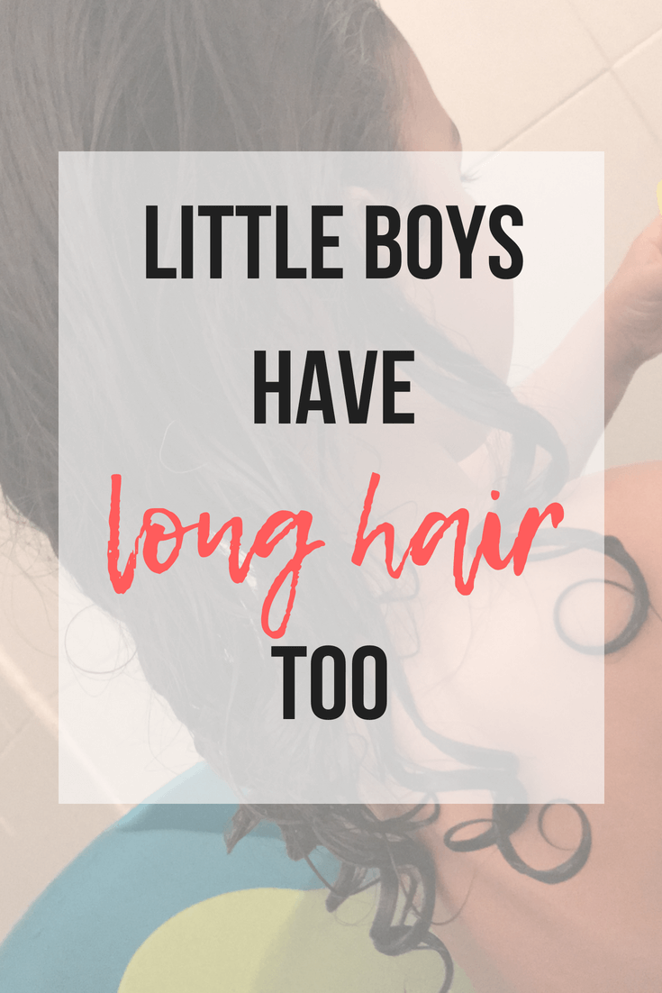 Little Boys Have Long Hair Too