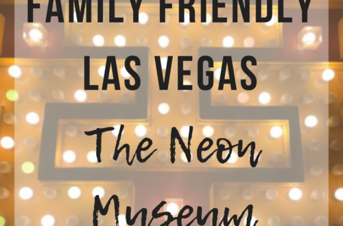 Family Friends Las Vegas | The Neon Museum - www.thevegasmom.com