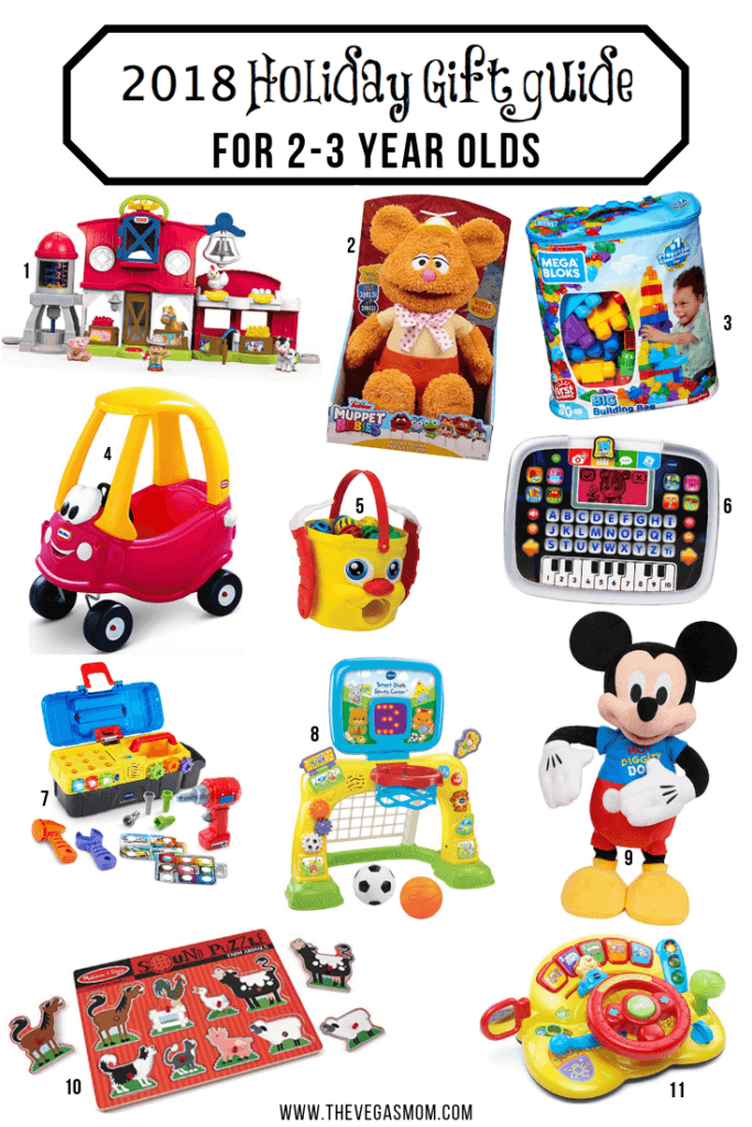 2018 Holiday Gift Guide for 2-3 Year Olds | www.thevegasmom.com