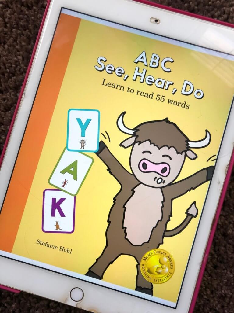 BOTW: Hear, See, Do: Learn to Read 55 Words | www.thevegasmom.com