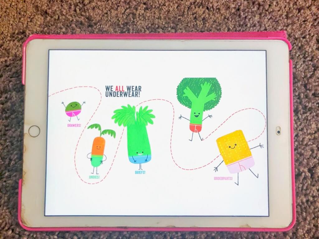 Children's Book of the Week: Vegetables in Underwear by Jared Chapman | www.thevegasmom.com
