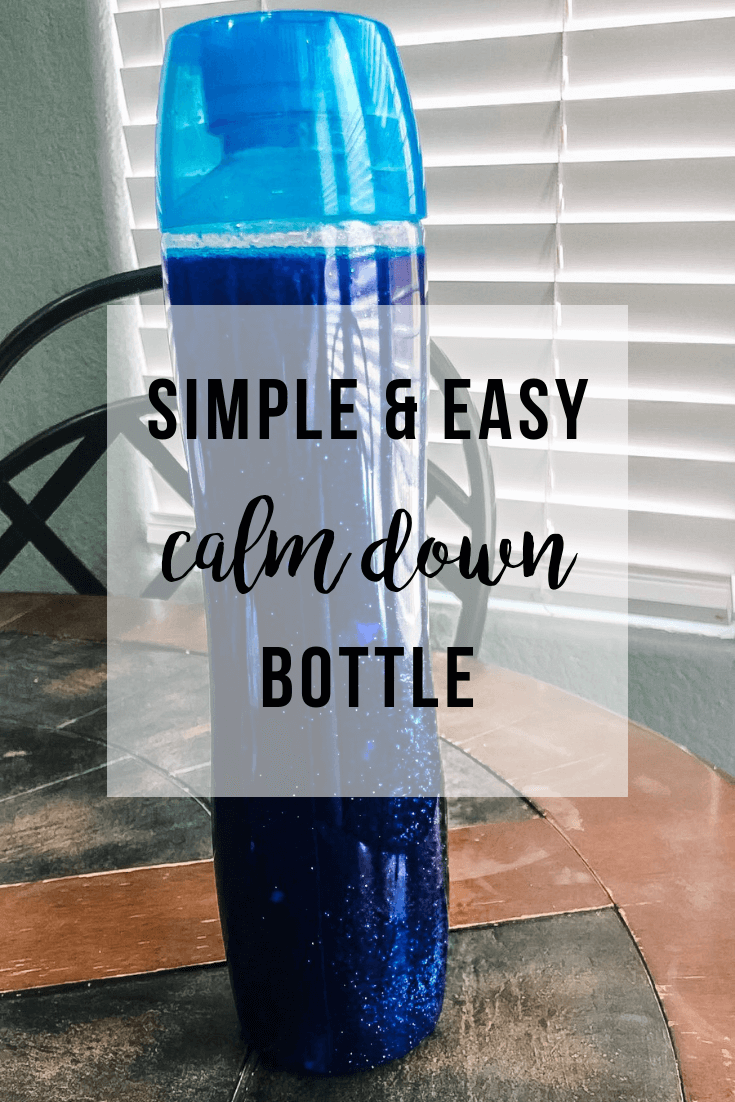 Simple Calm Down Bottle | www.thevegasmom.com