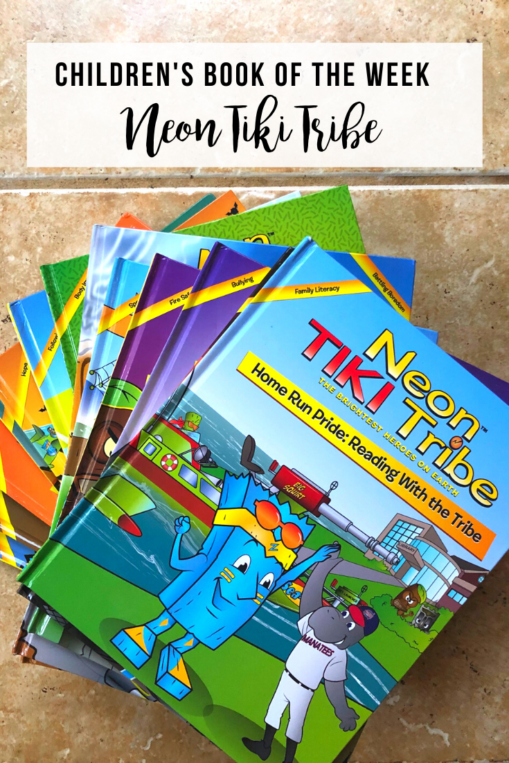 Children's Book of the Week: Neon Tiki Tribe | wwww.thevegasmom.com