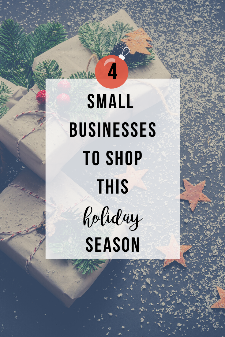 4 Small Businesses to Shop this Holiday Season | www.thevegasmom.com