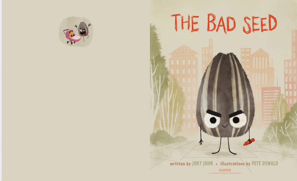 Children's Book of the Week: The Bad Seed | www.thevegasmom.com